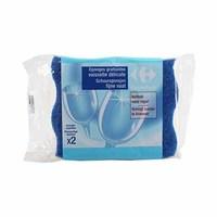 Carrefour Eponges Vaisselle Delicate X2