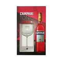 Campari Tonic Bouteille Liqueur 75CL + Glass Free