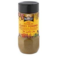 Natco Hot Madras Curry Powder Jar 100g