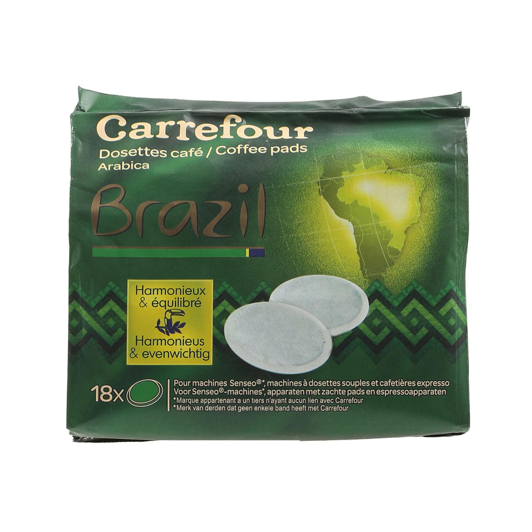 CRF COFEE PODS ARABICA BRAZIL 7GX18