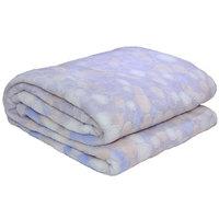 3D Super Soft Flannel Blanket King Grey