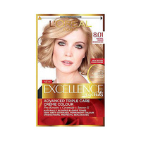L'Oreal Paris Excellence Legends Hair Coloring Starlet Blonde 8.01 48ML