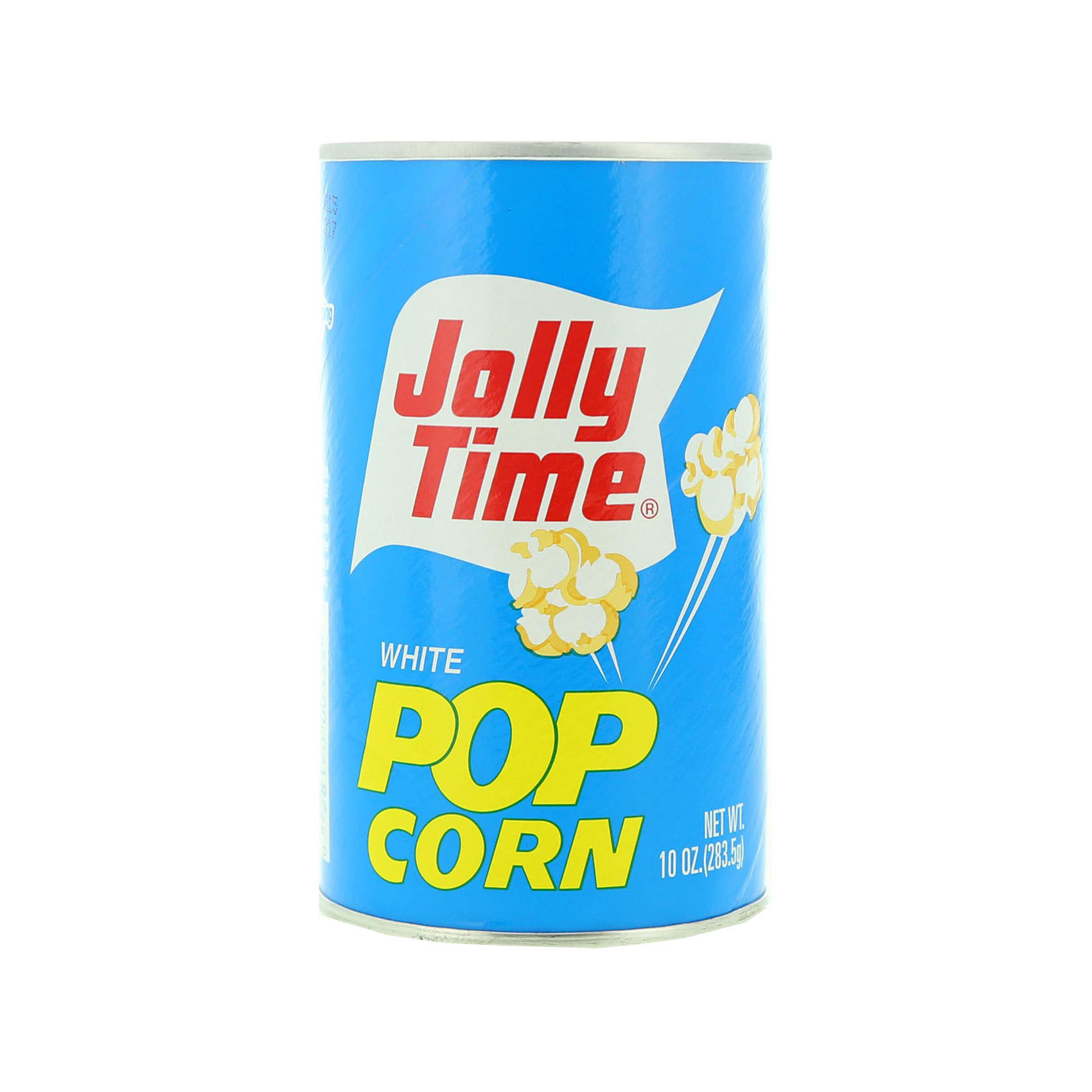 JOLLY TIME WHITE PULL CANS 284GR
