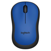 Logitech Wireless Mouse M220 Silent Blue