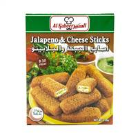 Al Kabeer jalapeno & cheese sticks 9-10 pieces - 250 g