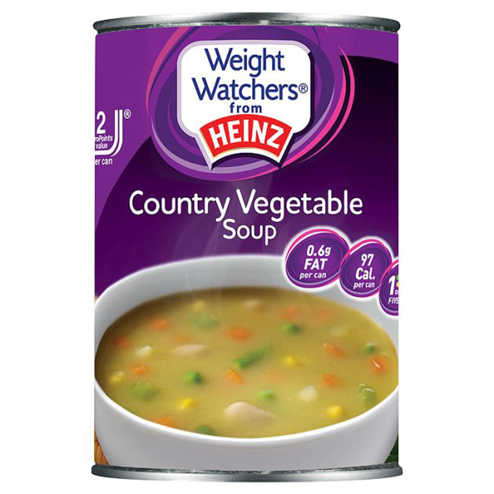 WEIGHT WATCHERS SOUP COUNTRY VEG 29