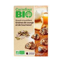 Carrefour Bio Organic Crunchy Muesli Grain 500g