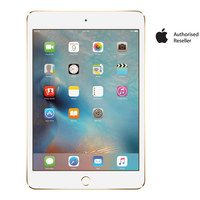 "Apple iPad  Mini 4 Wi-Fi 128GB 7.9""Gold"