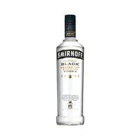 Smirnoff Black 40% Alcohol Vodka 70CL