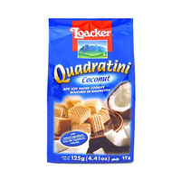 Loacker Quadratini Wafer Coconut 125GR