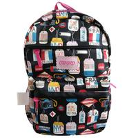 """Oxford Black Tags Backpack 18"""""""