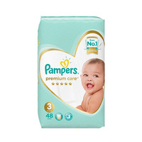 Pampers Premium Diapers Jumbo Pack 48 Sheets -10% Off