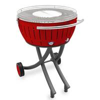 Smokeless Garden Grill XXL Red + Charcoal 2.5kg