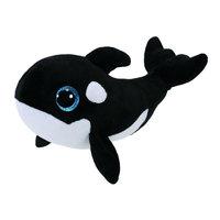 "Ty Beanie Boos Whale Nona Black Wight 7"""