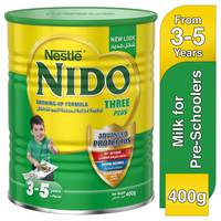 Nestlé Nido FortiProtect Three Plus (3-5 Years Old) Growing Up Milk Tin 400g