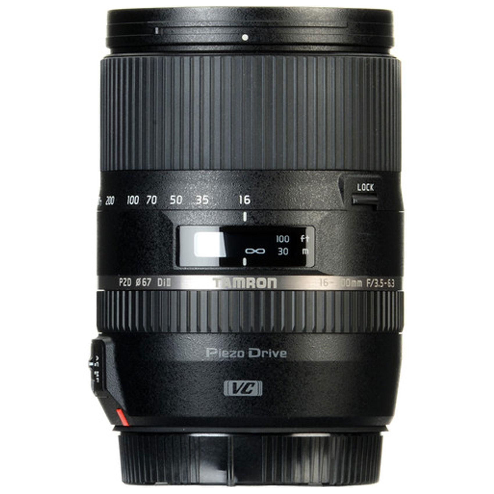 TAMRON LENS 16-300mm F/3.5-6.3N