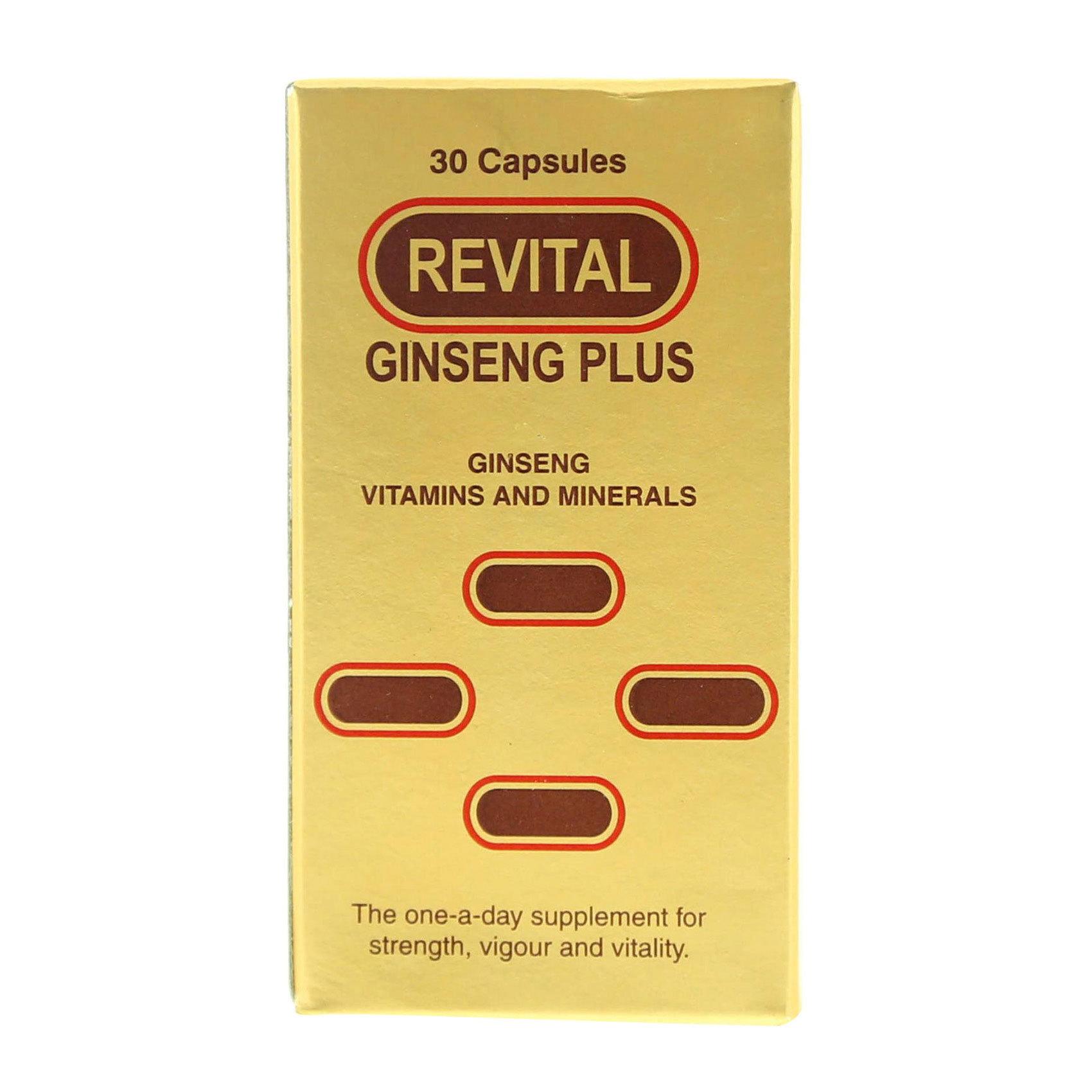 REVITAL GINSENG VIT.&MIN 30 TABLETS