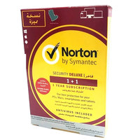 Norton Security Deluxe 1+1  + Backpack