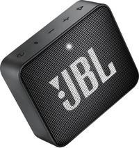 مكبر صوت لاسلكي جي بي إل GO 2 مقاومة للماء لون  أسود