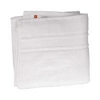 كنزي منشفة إستحمام قياس 70x140 سم لون أبيض