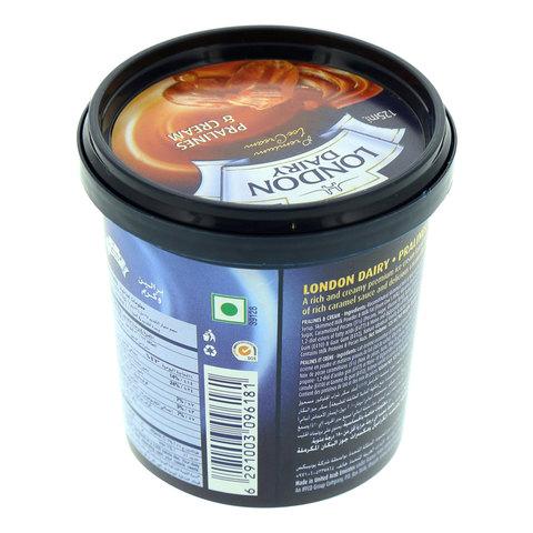 London-Dairy-Premium-Ice-Cream-Pralines-&-Cream-125ml