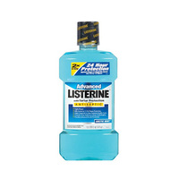Listerine Advanced Antiseptic Mouthwash with Tartar Protection 500ML+250ML Free
