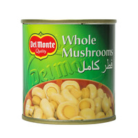 Del Monte Whole Mushrooms 200g
