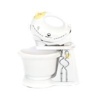 Home Electric Bowl Mixer HM-33 350 Watt White