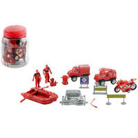 Power Joy Promojar Fire Rescue Play Set