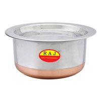 Raj Copper Bottom Top 10Cm With Lid