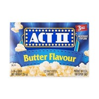 Act II Microwave Popcorn Butter 85GR X 3