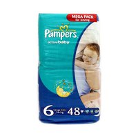Pampers Diapers Mega Pack Size 6 48 Pieces