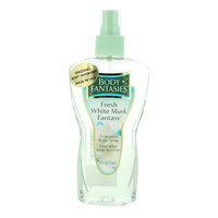 Body Fantasies Fresh White Musk Fantasy Body Spray 236ml