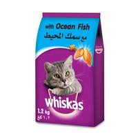 Whiskas Ocean Fish Dry Cat Food Adult 1+ years 1.2 Kg