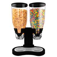 Cereal Dispenser Double Compartment