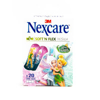 Nexcare Soft 'N Flex Design Bandages 20 Pieces