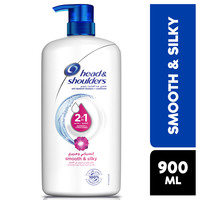 Head & Shoulders Smooth & Silky 2in1 Anti-Dandruff Shampoo with Conditioner 900 ml