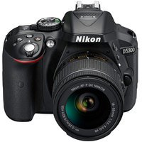 Nikon SLR Camera D5300 + Lens AF-P18-55MM VR Kit