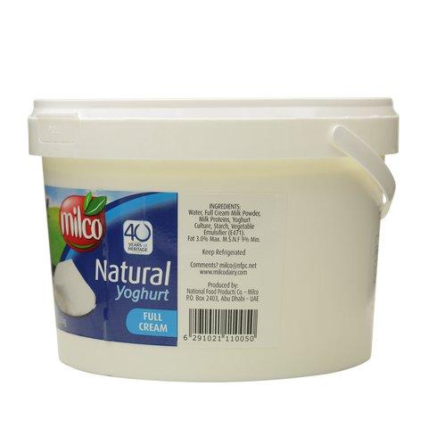 Milco-Natural-Yoghurt-Full-Cream-3.8Kg