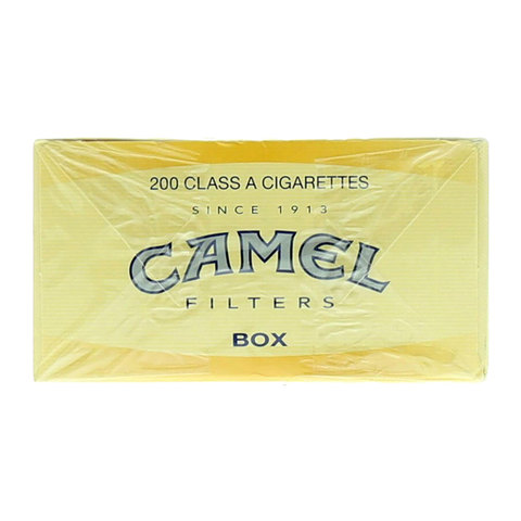 Camel-Filters-Class-A-200-Cigarettes(Forbidden-Under-18-Years-Old)