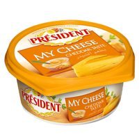 President My Cheese Cream Cheddar Taste 125 g