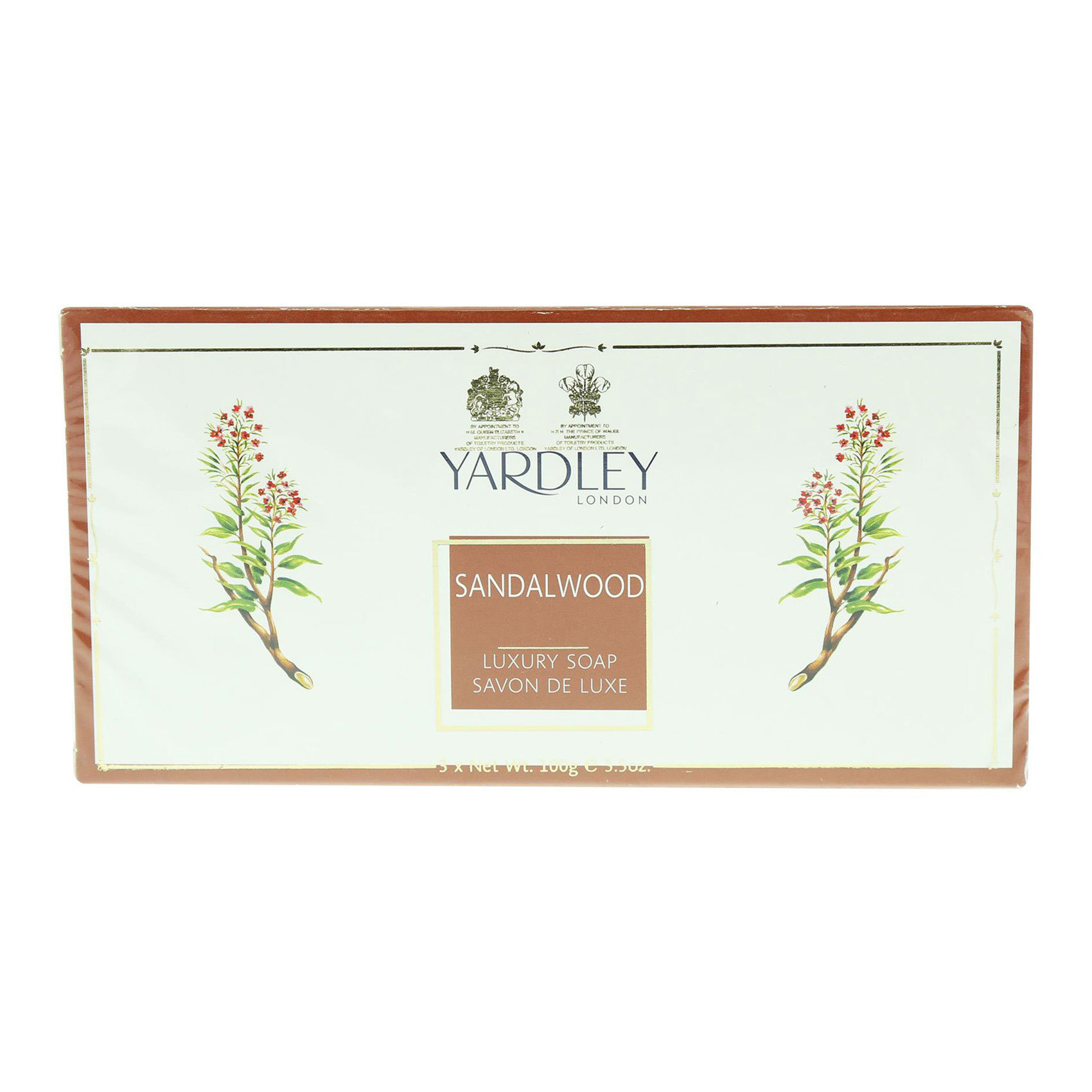 YARDLEY SANDALWOOD SOAP 100GX3