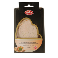 Volys Sliced Chicken With Herbs 150 g