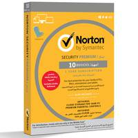 Symantec Norton Security Premium 25GB Secure Storage 10 Devices