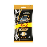 Bic Action 3 Razor Blades Pack Of 4+2 Free