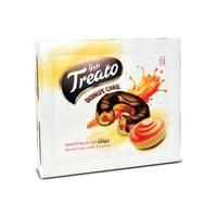 تريتو دونات كيك بالكريمة الكرمل 50 جرام  12حبة