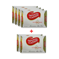 Imperial Leather Cussons Soap Extra Care 125GR 4+2 Free