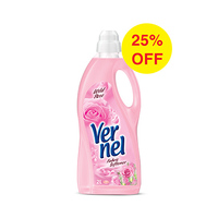 Vernel Softener Wild Rose Liquid 2L 25% Off