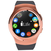 iLife Smart ZED Watch R SIM Calling Gold