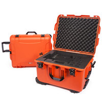 Nanuk Action camera Trolley Case 960 with Cubed Foam Orange
